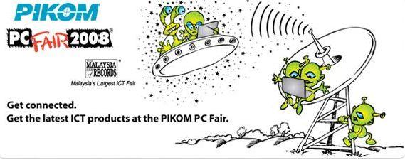 Pikom PC Fair 2008