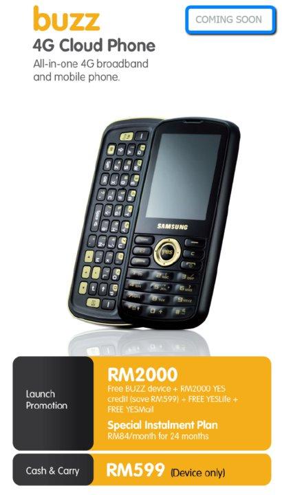 buzz 4G Cloud Phone