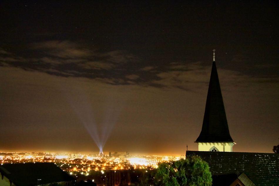 基督城夜景. 來源:Tindall.org.nz
